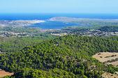 Fornells Bay in Menorca, Balearic Islands, Spain — Stock Photo