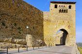 Puerta de San Mateo, in Morella, Spain — Stock Photo