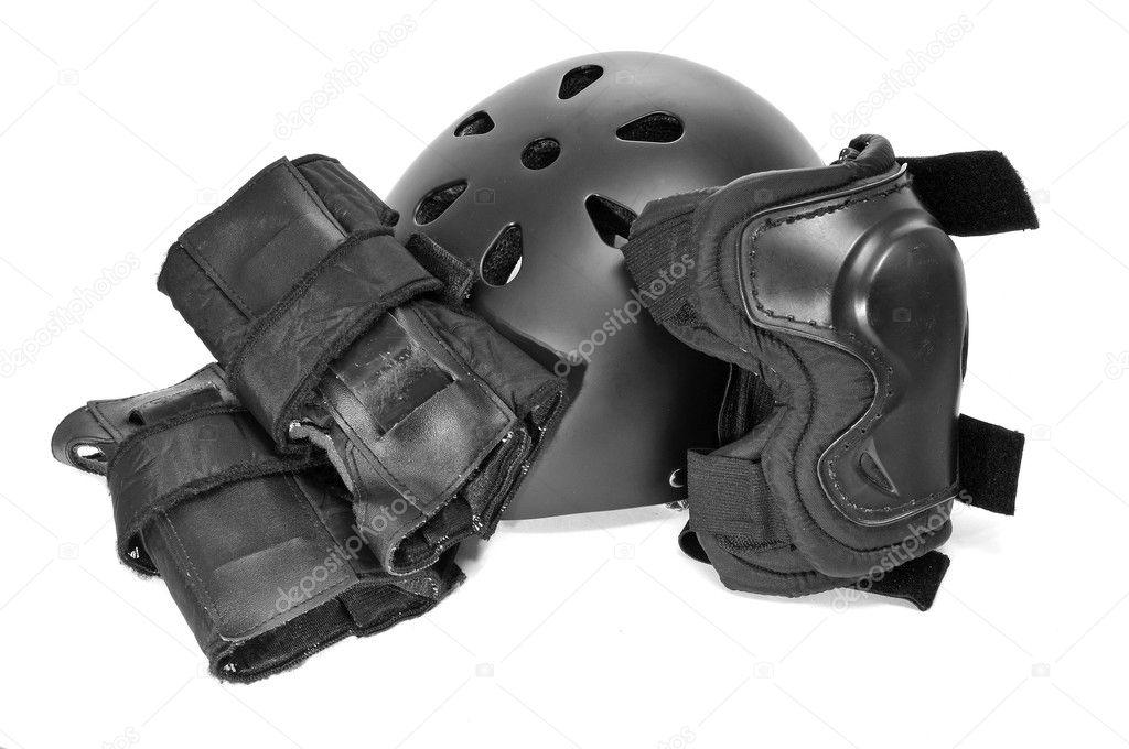 Катки обладнання захисту - стокове фото nito103 #5135999.