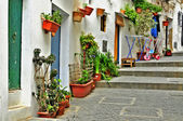 A street of old town of Ibiza, Balearic Islands, Spain — Stock Photo