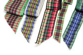 Patterned ribbons — Stock Photo