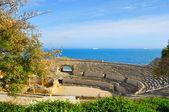 Amphithéâtre romain à tarragone, espagne — Photo