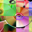 CD, CD-ROM and DVD — Stock Photo #5309139