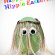 Stock Photo: Happy hippie easter