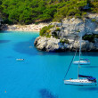 Stock Photo: View of Macarelletbeach in Menorca, Balearic Islands, Spain