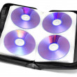 CD-DVD case — Stock Photo