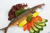 Fish, grill — Stock Photo