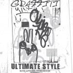 Graffiti artwork design for children shirt — Stock Vector