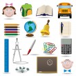 School set — Stock Vector