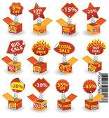 Price box#2 — Stock Vector