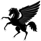 Pegasus — Vector de stock