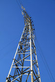 Elektrische pole position — Stockfoto