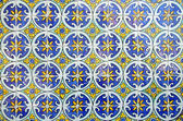 Typical portugues tiles — Stock Photo