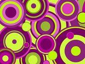 Funky circles — Stock Vector
