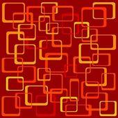 Funky quadrate — Stockvektor