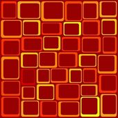 Funky Squares — Stock Vector