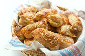 Puff pastry patties — Stock Photo