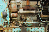 Old rusty diesel — Stock Photo