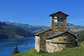 Altitude chapel — Stock Photo