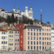 Lyon city — Stock Photo #4340733