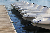 Boat rental — Stock Photo
