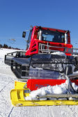Snowplow — Stockfoto