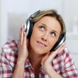 Listening music — Stock Photo #4950421