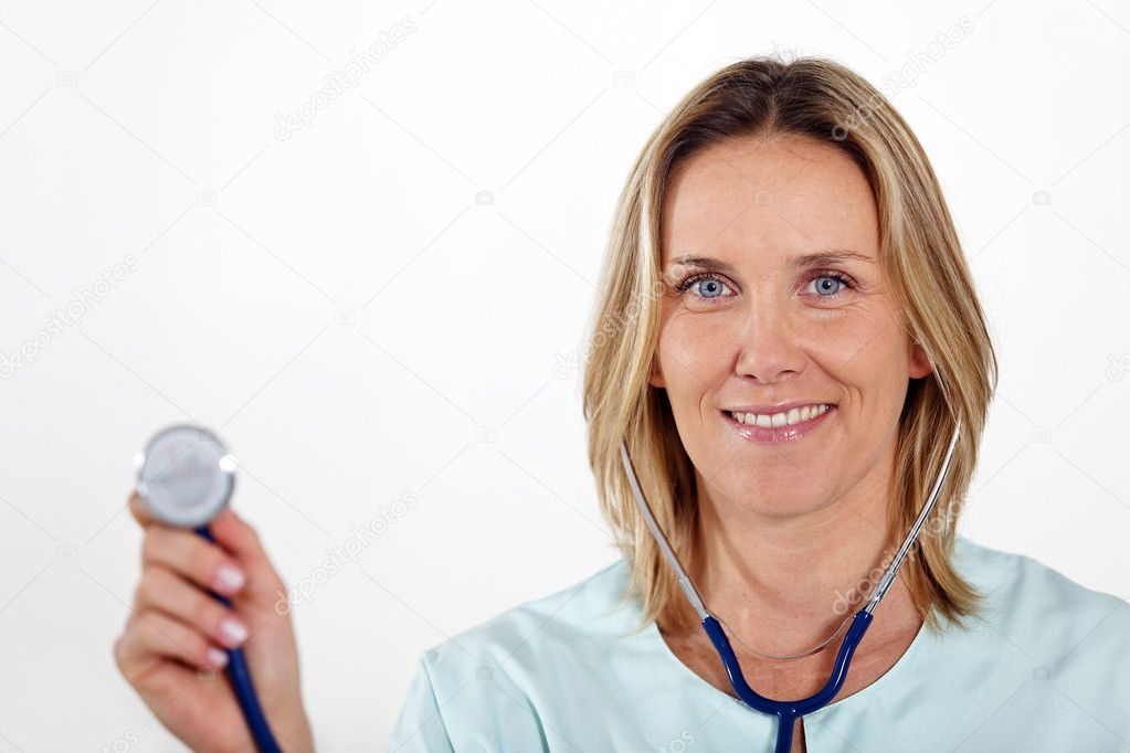 Doctor woman — Stock Photo #5000785