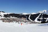 Snow village — Stock Photo