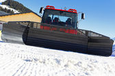 In front of snowplow — Foto Stock