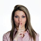 Silencio — Foto de Stock