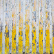 Royalty-Free Stock Photo: Grunge yellow-grey striped stone wall artistic background