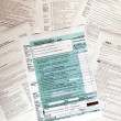 Tax forms — Foto de Stock