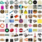 Many objects isolated — Stock Photo
