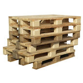 Pallets isolated — Stock Photo