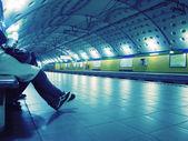 Tube station — Stock Photo