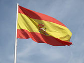 Flag of Spain — Stock fotografie