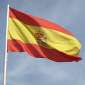 Flag of Spain — Stok fotoğraf