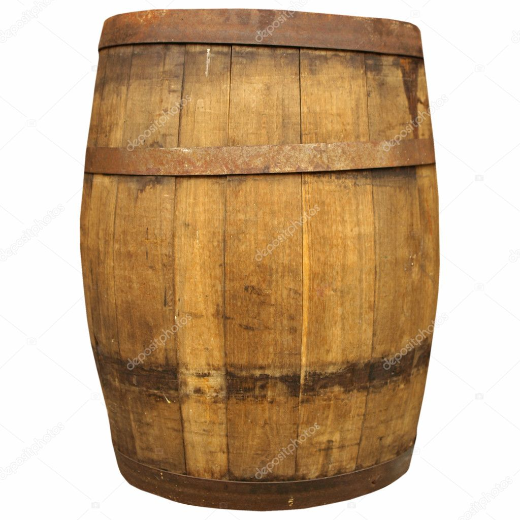 Wine or beer barrel cask stock photo claudiodivizia for Bar barril de madera