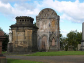 Glasgow necropolis — Stock Photo