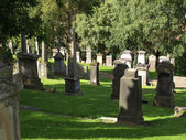 Glasgow cemetery — Stock Photo