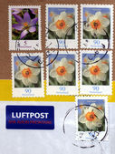 German Stamps — Stock Photo