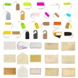 Stock Photo: Stationery collage
