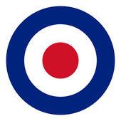 RAF flag — Stock Photo