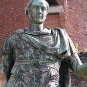 Romeinse standbeeld — Stockfoto