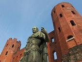 Julius Caesar statue — Stock Photo