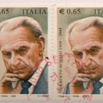 Bobbio stamp — Stock Photo #5249194