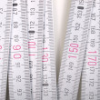 Stock Photo: Carpenter ruler