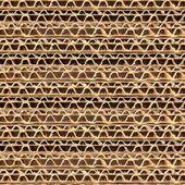 Papelão ondulado — Foto Stock