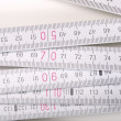 Carpenter ruler — Stockfoto #5352348